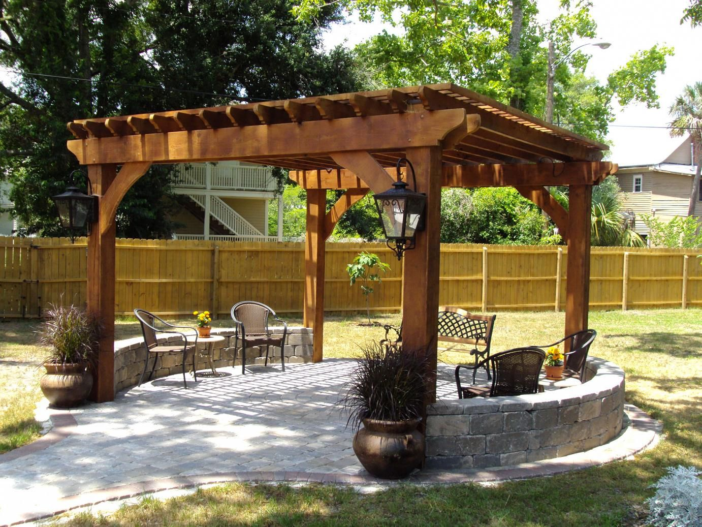 Outdoor Pergolas-Pasadena TX Landscape Designs & Outdoor Living Areas-We offer Landscape Design, Outdoor Patios & Pergolas, Outdoor Living Spaces, Stonescapes, Residential & Commercial Landscaping, Irrigation Installation & Repairs, Drainage Systems, Landscape Lighting, Outdoor Living Spaces, Tree Service, Lawn Service, and more.